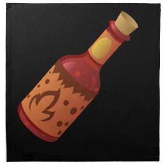 Serviettes De Table Sauce pétillante chaude à la nourriture n de