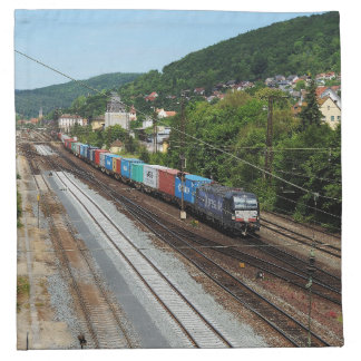 Serviettes De Table Train de marchandises dans les Gemünden au Main