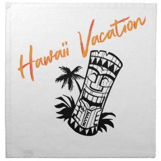 Serviettes De Table Vacances d'Hawaï