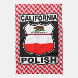Serviettes de thé américaines polonaises de la