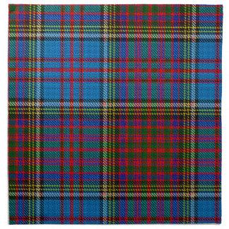 Serviettes de tissu de tartan d'Anderson