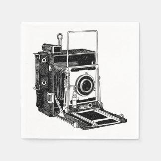 Serviettes En Papier Appareil-photo vintage