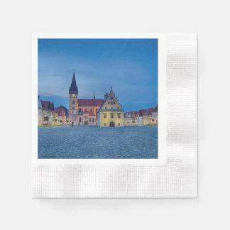Serviettes En Papier Bardejov est une ville de la Slovaquie