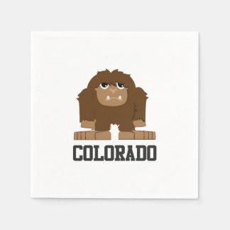 Serviettes En Papier Bigfoot le Colorado