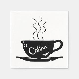 Serviettes En Papier Café