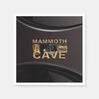 Serviettes En Papier Caverne de mammouth d'ABH