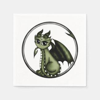 Serviettes En Papier Dragon d'Ouroboros