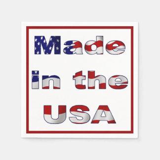 Serviettes En Papier Fabriqué aux Etats-Unis