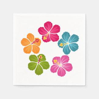 Serviettes En Papier Fleurs de ketmie