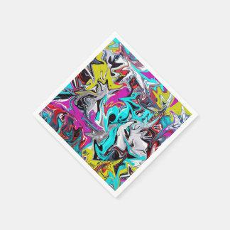 Serviettes En Papier Graffiti