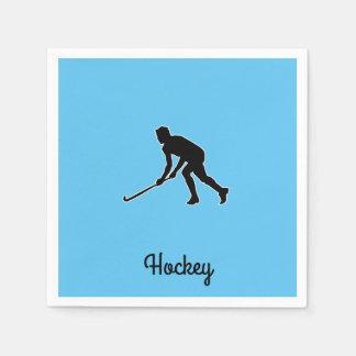 Serviettes En Papier Joueur de hockey d'herbe