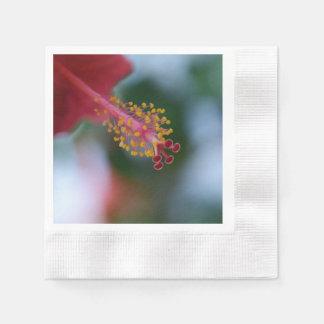 Serviettes En Papier Ketmie de fleur