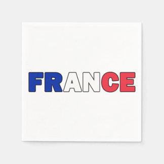 Serviettes En Papier La France