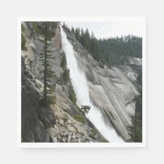 Serviettes En Papier Le Nevada tombe au parc national de Yosemite
