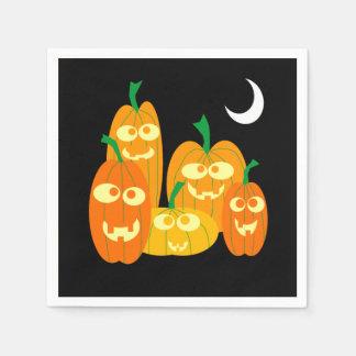 Serviettes En Papier Partie mignonne de Halloween de bande dessinée de