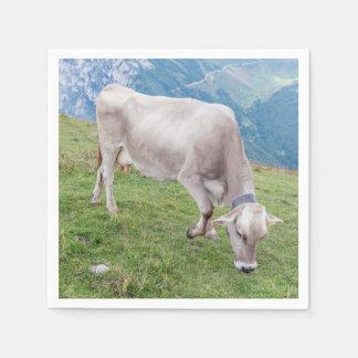Serviettes En Papier Pâturage de la vache