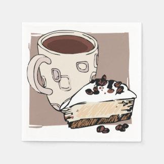 Serviettes En Papier Pause-café