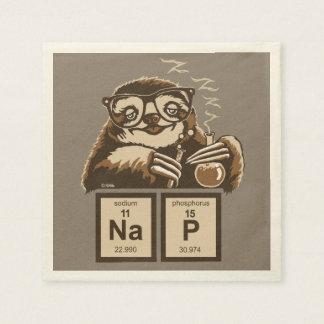 Serviettes En Papier Petit somme découvert par paresse de chimie