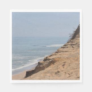 Serviettes En Papier Photo de plage