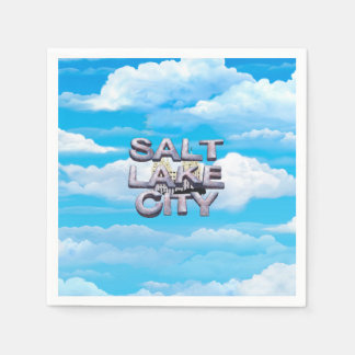 Serviettes En Papier PIÈCE EN T Salt Lake City