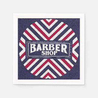 Serviettes En Papier Raseur-coiffeur