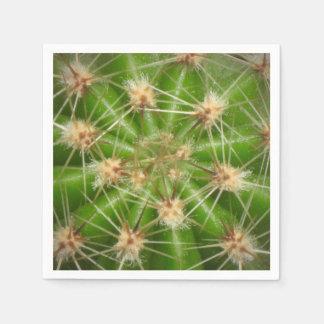 Serviettes En Papier Serviette de cactus