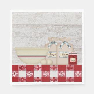Serviettes En Papier Serviettes de papier de la cuisine de la