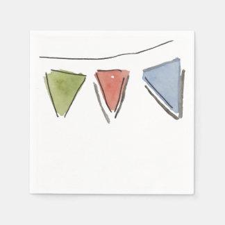 Serviettes En Papier Serviettes d'étamine de partie