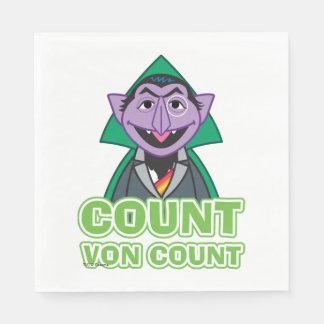 Serviettes En Papier Style 2 de von Count Classic de compte