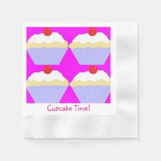 Serviettes En Papier Temps de petit gâteau !