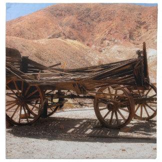 Serviettes En Tissus 2010-06-28 old_wagon de la ville fantôme de