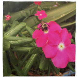 Serviettes En Tissus abeille