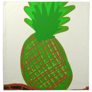 Serviettes En Tissus ananas de lola de pina de La