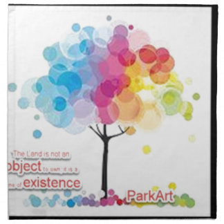 Serviettes En Tissus Avocat pour l'art et les parcs !