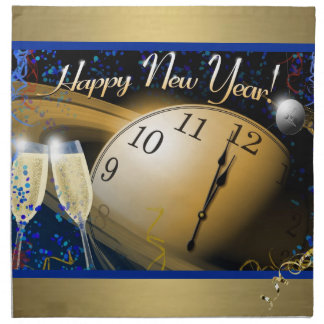 Serviettes En Tissus Bonne année