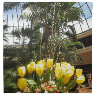 Serviettes En Tissus Fleurs de jardin Las Vegas Etats-Unis Amérique de