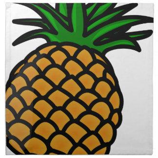 Serviettes En Tissus Fruit d'ananas