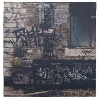 Serviettes En Tissus Graffiti d'ananas…