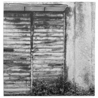 Serviettes En Tissus Guerre biologique oubliée par magasin abandonnée