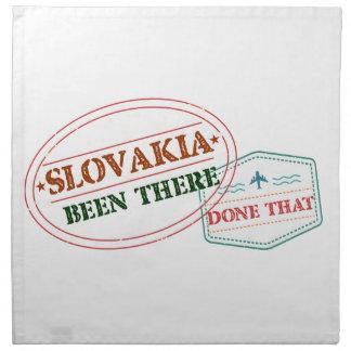 Serviettes En Tissus La Slovaquie là fait cela