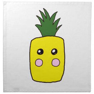 Serviettes En Tissus L'ananas