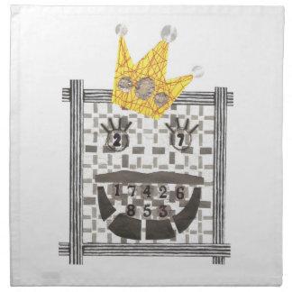Serviettes En Tissus Le Roi Sudoku Cloth Napkins