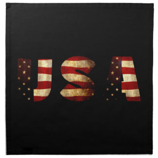 Serviettes En Tissus Les Etats-Unis d'Amérique