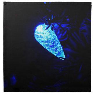 Serviettes En Tissus Lumière bleue