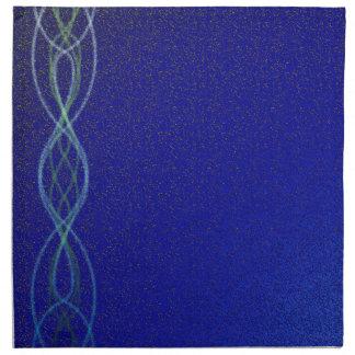 Serviettes En Tissus Lumières bleu-foncé