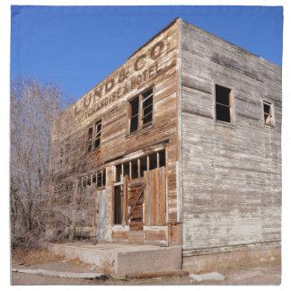 Serviettes En Tissus Magasin et hôtel abandonnés - Utah