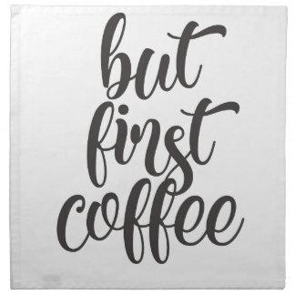 Serviettes En Tissus Mais premier café