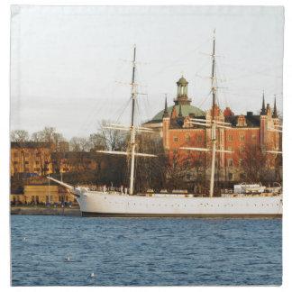 Serviettes En Tissus Naviguant à Stockholm, la Suède