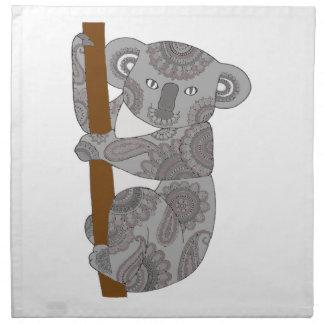 Serviettes En Tissus Ours de koala