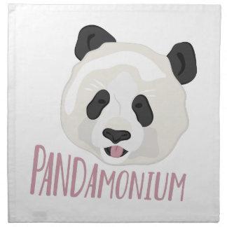 Serviettes En Tissus Pandamonium